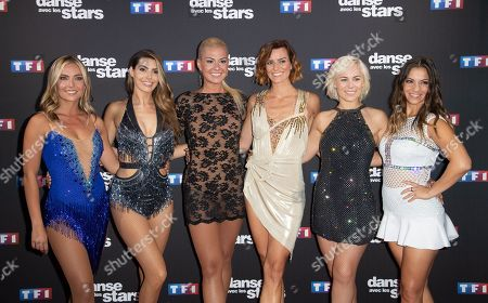 Katrina Patchett, Denitsa Ikonomova, Emmanuelle Berne, Candice Pascal, Ines Vandamme and Fauve Hautot
