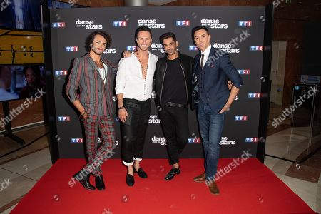 Maxime Dereymez, Anthony Colette, Christian Millette and Christophe Licata