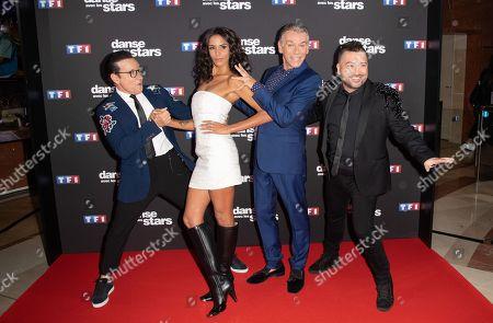 Shy'm, Jean Marc Genereux, Patrick Dupond and Chris Marques