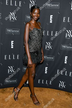 Editorial image of E! Entertainment, ELLE and IMG kick-off party, Arrivals, New York Fashion Week, USA - 04 Sep 2019