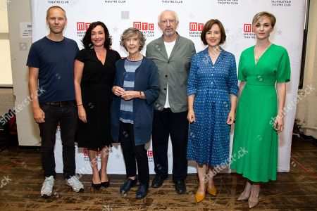 Editorial image of 'The Height of the Storm!' play, cast meet and greet, New York, USA - 03 Sep 2019