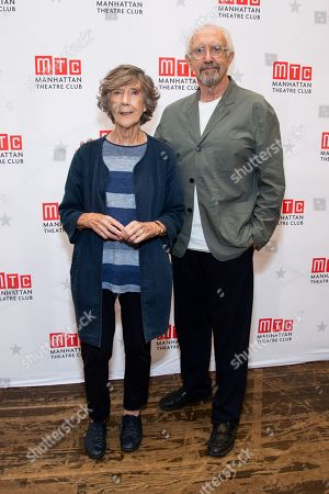 Stock Photo of Dame Eileen Atkins and Jonathan Pryce