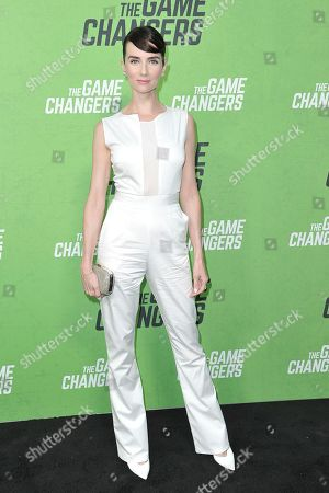 """Victoria Summer attends the LA premiere of """"The Game Changers"""" at ArcLight Cinemas Hollywood, in Los Angeles"""