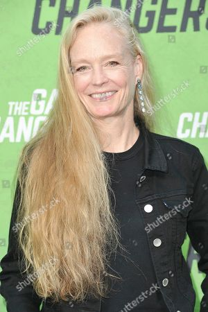 """Suzy Amis attends the LA premiere of """"The Game Changers"""" at ArcLight Cinemas Hollywood, in Los Angeles"""