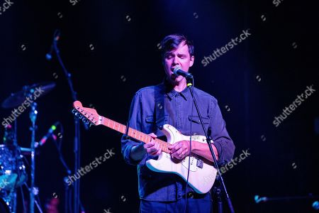 David Longstreth of Dirty Projectors performs on stage at The Variety Playhouse, in Atlanta