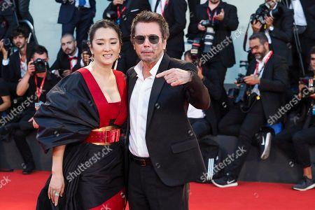 Gong Li and Jean-Michel Jarre
