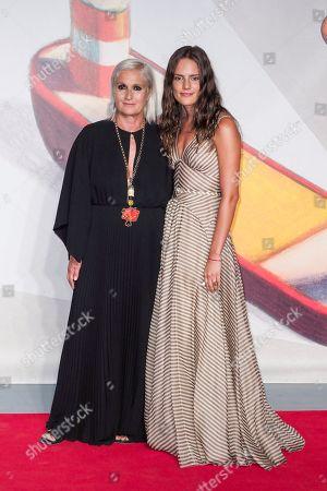 Stock Picture of Maria Grazia Chiuri and Rachele Regini
