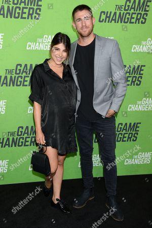 Daniella Monet and Andrew Gardner