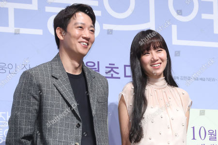 Editorial picture of South Korean movie Crazy Romance's cast at event in Seoul, Korea - 05 Sep 2019