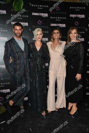 Stock Image of Alberto Bof, Irene Vecchio, Elisa Amoruso, Martina Cocco