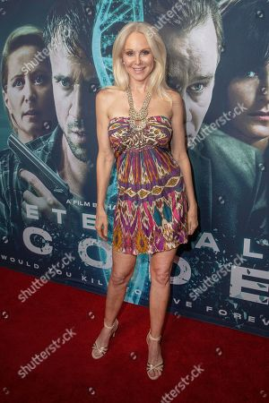 Stock Image of Donna Spangler arrives at the red carpet even for the premiere of 'Eternal Code' at TCL Chinese Theatre in Hollywood, California, USA, 04 September 2019. The movie will be releases in theaters on 06 September.
