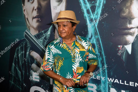 Stock Image of Deep Roy arrives at the red carpet even for the premiere of 'Eternal Code' at TCL Chinese Theatre in Hollywood, California, USA, 04 September 2019. The movie will be releases in theaters on 06 September.