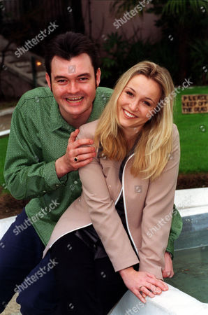 Bbc's New Childrens Television Presenters (l-r) Sarah Vandenbergh And Grant Stott.