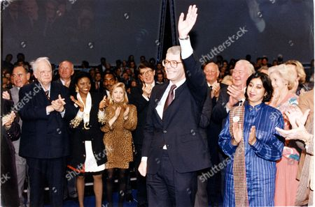 John Major - Prime Minster - 1992 - Tory Party Rally Patrick Moore Patti Boulaye Lynsey De Paul Leslie Crowther Brian Johnstone Denis Lompton ...