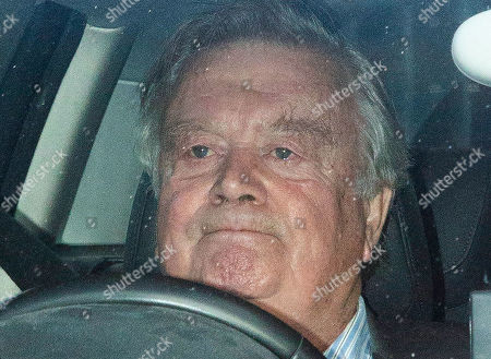Father of The House Kenneth Clarke leaves the Houses of Parliament