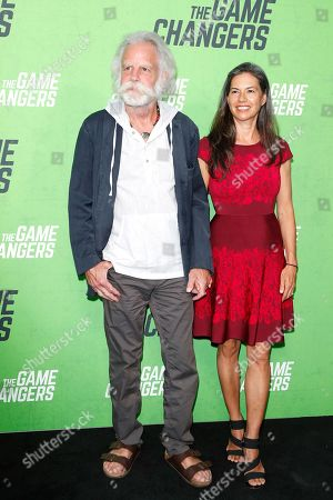 Bob Weir and Natasha Munter arrive for the LA Premiere of 'The Game Changers' at ArcLight Hollywood in Los Angeles, California, USA, 04 September 2019. The movie opens in US theaters on 16 September 2019.