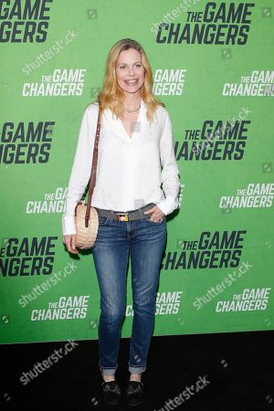 Stock Picture of Kristin Bauer Van Straten at the LA Premiere of The Game Changers at ArcLight Hollywood in Los Angeles, California, USA 04 September 2019. The movie opens in the US 16 September 2019.