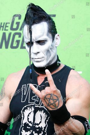 Stock Photo of Doyle Wolfgang von Frankenstein arrives for the LA Premiere of 'The Game Changers' at ArcLight Hollywood in Los Angeles, California, USA, 04 September 2019. The movie opens in US theaters on 16 September 2019.