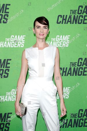 Victoria Summer arrives for the LA Premiere of 'The Game Changers' at ArcLight Hollywood in Los Angeles, California, USA, 04 September 2019. The movie opens in US theaters on 16 September 2019.