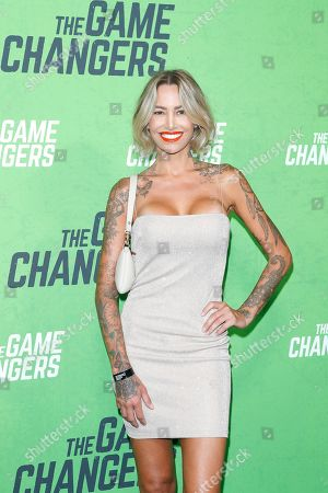 Tina Louise arrives for the LA Premiere of 'The Game Changers' at ArcLight Hollywood in Los Angeles, California, USA, 04 September 2019. The movie opens in US theaters on 16 September 2019.