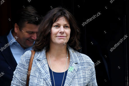 Claire Perry leaves No.10 Downing Street