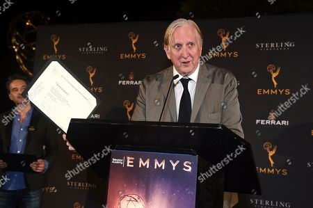 """T Bone Burnett celebrates his Emmy nomination for """"American Detective"""" at the 2019 Music Nominee Reception at the Television Academy Wolf Theatre on in North Hollywood, Calif"""