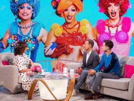Editorial image of 'Lorraine' TV show, London, UK - 05 Sep 2019