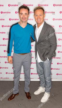 Jason Donovan and Joe McFadden