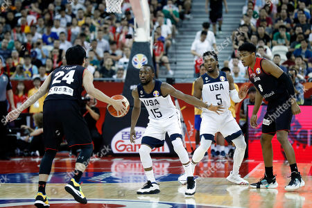 Kemba Walker of USA during the FIBA Basketball World Cup 2019 group E first ?round? match between USA and Japan in Shanghai, China, 05 September 2019.