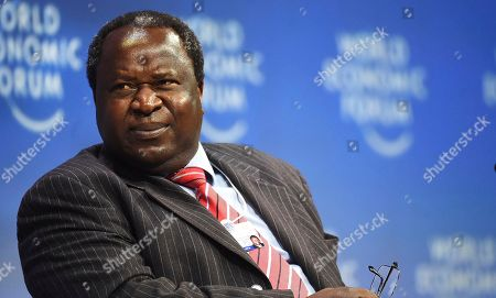 South Africa Finance Minister Tito Mboweni attends the World Economic Forum on Africa in Cape Town, South Africa, . Delegates attending the three-day summit that will tackle the issues faced by the continent by focusing on how to scale up the transformation of regional architecture related to smart institutions, investment, integration, industry and innovation