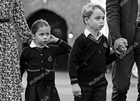Editorial picture of Princess Charlotte's first day at school, Thomas's Battersea, London, UK - 05 Sep 2019