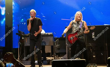 Deep Purple - Ian Gillan and Steve Morse