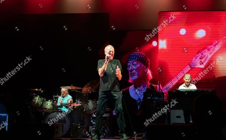 Stock Image of Deep Purple - Ian Paice, Ian Gillan and Don Airey