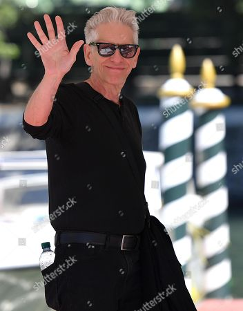David Cronenberg arrives at the Lido Beach for the 76th annual Venice International Film Festival, in Venice, Italy, 05 September 2019. The festival runs from 28 August to 07 September.