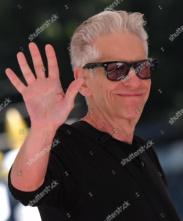Stock Photo of David Cronenberg arrives at the Lido Beach for the 76th annual Venice International Film Festival, in Venice, Italy, 05 September 2019. The festival runs from 28 August to 07 September.