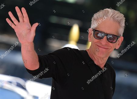 Stock Picture of David Cronenberg arrives at the Lido Beach for the 76th annual Venice International Film Festival, in Venice, Italy, 05 September 2019. The festival runs from 28 August to 07 September.