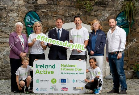 Editorial image of Launch Of Ireland Active National Fitness Day 2019  - 05 Sep 2019