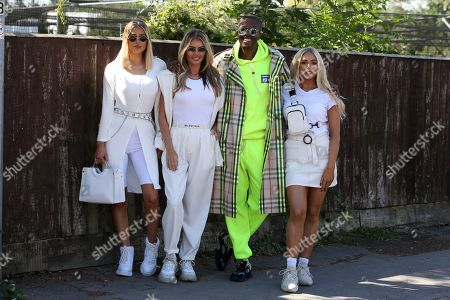 Stock Picture of Demi Sims, Chloe Sims, Vas J Morgan and Frankie Sims