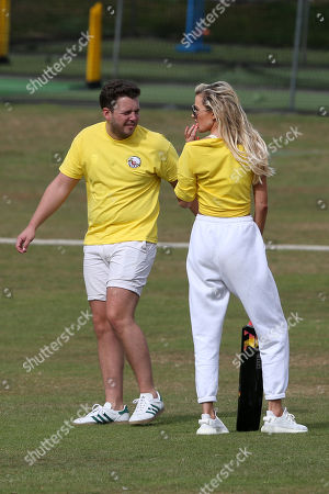 Olivia Attwood and James Bennewith