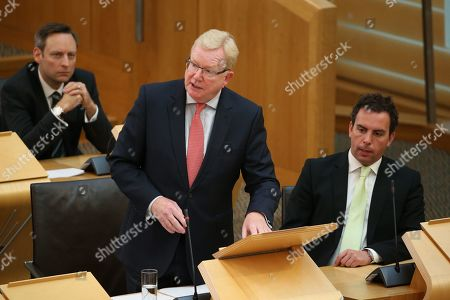 Scottish Parliament First Minister's Questions - Liam Kerr, Jackson Carlaw, Interim Leader of the Scottish Conservative and Unionist Party, and Maurice Golden