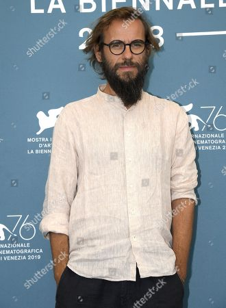 Andrea Segre poses at a photocall for 'Il Pianeta in Mare' during the 76th annual Venice International Film Festival, in Venice, Italy, 05 September 2019. The movie is presented out of competition at the festival running from 28 August to 07 September.