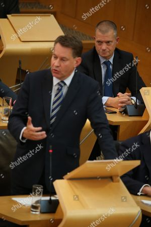 Avoiding a No-deal Exit from the EU debate at The Scottish Parliament - Jamie Greene, Murdo Fraser and Liam Kerr