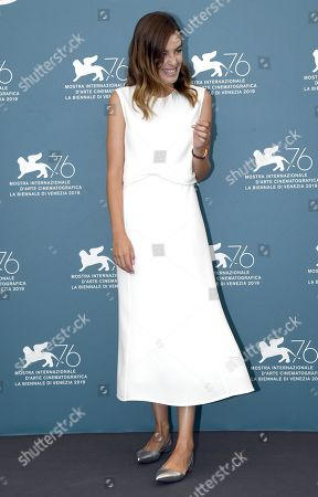 Victoria Guerra poses at a photocall for 'Herdade' during the 76th annual Venice International Film Festival, in Venice, Italy, 05 September 2019. The movie is presented in the official competition 'Venezia 76' at the festival running from 28 August to 07 September.