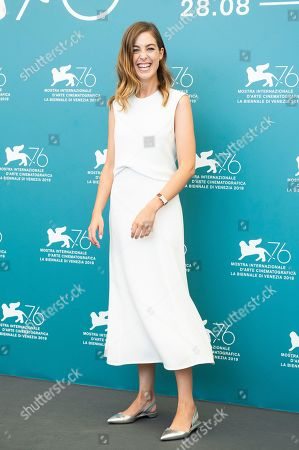 Victoria Guerra poses for photographers at the photo call for the film 'A Herdade' at the 76th edition of the Venice Film Festival in Venice, Italy