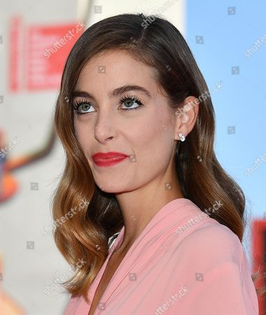Stock Photo of Victoria Guerra arrives for the premiere of 'A Herdade' during the 76th annual Venice International Film Festival, in Venice, Italy, 05 September 2019. The movie is presented in the official competition 'Venezia 76' at the festival running from 28 August to 07 September.