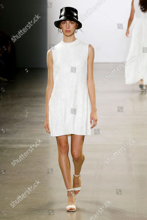 Editorial picture of Elie Tahari show, Runway, Spring Summer 2020, New York Fashion Week, USA - 05 Sep 2019