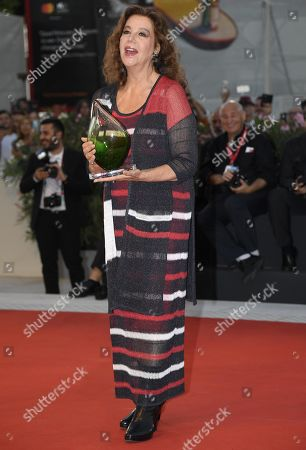 Stefania Sandrelli arrives for the premiere of 'Gloria Mundi' during the 76th annual Venice International Film Festival, in Venice, Italy, 05 September 2019. The movie is presented in the official competition 'Venezia 76' at the festival running from 28 August to 07 September.