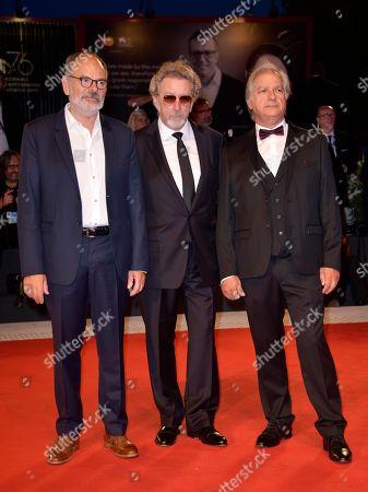 Jean-Pierre Darroussin with Robert Guediguian and Gerard Meylan
