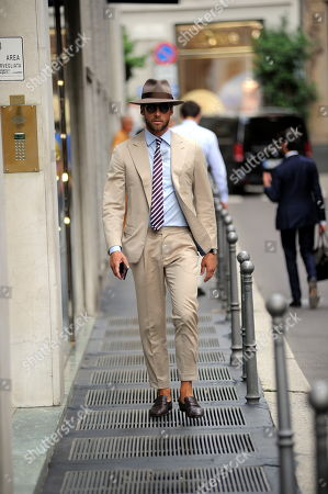 Editorial image of Claudio Marchisio out and about, Milan, Italy - 05 Sep 2019