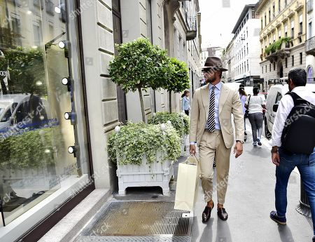 Editorial picture of Claudio Marchisio out and about, Milan, Italy - 05 Sep 2019